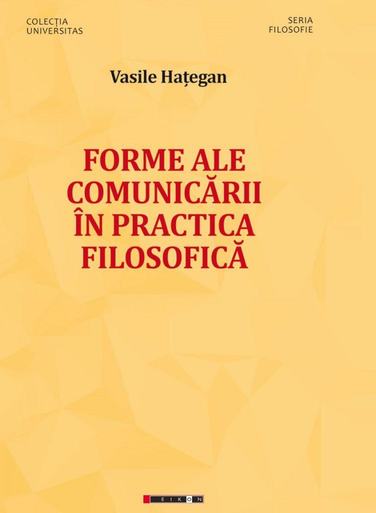 Forme ale comunicării în practica filosofică